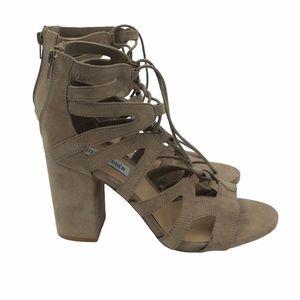 Steve Madden | Gal Lace Up Block Heels